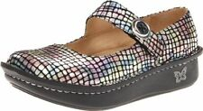 Alegria Women's Paloma Mary Jane Clog Flat Comfortable Nurse Shoes Color/Size