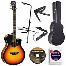 Yamaha APX500IIIVS Thin Line Acoustic/Electric Cutaway Guitar, Vintage...