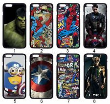 Avengers Captain America Hulk Spider-Man Case For iPhone iPod & Samsung Galaxy