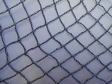 Knitted Anti Bird Netting Black - 10m Wide x All Lengths Commercial Pest Netting