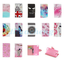 Case Cover For WIKO Smart Phones Gentle Printed PU Leather Wallet Flip Stand