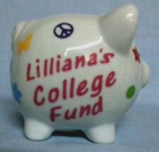 PERSONALIZED Boutique mini Piggy Bank!  DESIGN YOUR OWN!! Adorable Baby GIft