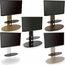 """AVF Chepstow Corner Cantilever TV Stand Wood For 32"""" to 50"""" LED CURVE OLED LCD"""