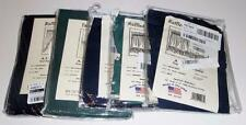 Curtains, Swags, Valances, Tiers, Ellis Stacey, Rod Pocket, Blue or Green, NIP