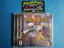 MediEvil II 2 (Sony PlayStation 1 PS1 2000) Brand New Factory Sealed Rare