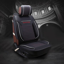 Comfort PU Leather Car Seat Cushion Chair Cover 4 Season For all 5 seat Car H215