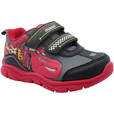 Disney Cars Toddler Boys Lightweight Red/Black Athletic Sneakers/Shoes: 7