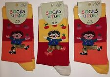 "Children Socks ""Hedgehog"" 3 er Pack"
