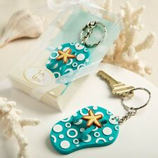 Fun and Funky Flip Flop Key Chains From PartyFairyBox - Wedding Favors / FC-5255