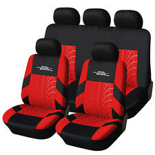 Car Seat Covers Embroidery Sport Luxury Special Front Real Left Right Seats Car