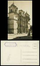 Mexico 1953 Old Postcard Catedral de OAXACA Cathedral