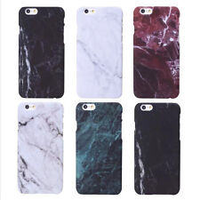 Cover For Iphone 5 6s 7 Plus Hard Plastic Marble Stone Painted Phone Case Cover