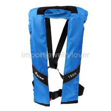 Manual Adult Life Jacket Vest Auto Inflatable PFD Survival Floatation