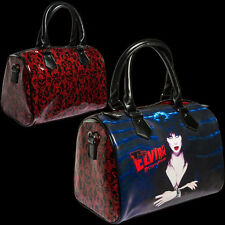 KREEPSVILLE666 OFFICIALLY LICENSED ELVIRA GLITTER RED PURSE BAG. HORROR.