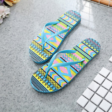 Womens Home Casual Shoes Flip Flops Beach Low Heel Slippers Sandals Bathroom