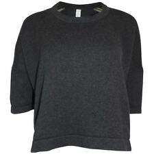 Pre-owned Lululemon Bhakti Reality Short Sleeve Heathered Black (8)