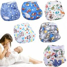 Reusable Infant Cloth Diapers Cover Adjustable Baby Nappy Washable