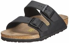 BIRKENSTOCK ARIZONA  GIZEH  PATENT WHITE / BLACK Arizona Soft Footbed 556789 L M