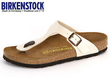 BIRKENSTOCK GIZEH Black ALL SIZES New Arizona Black or White Birkenstock 37 78