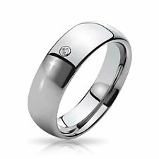 Bling Jewelry Unisex Domed Tungsten Ring 8mm