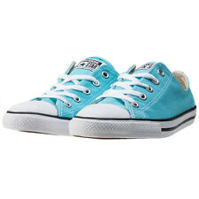 Converse Chuck Taylor All Star Dainty Womens Trainers Blue Branded Footwear