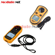 Digital LCD Anemometer Wind Speed Gauge Tester NTC Temperature Thermometer M