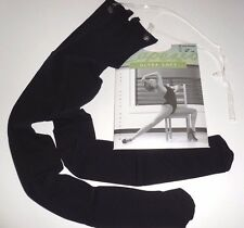 New in Package Capezio 1811 Black Transition Bodytight Ladies Sizes Clear Straps