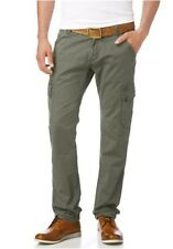 Tom Tailor Cargo trousers NEW W31-W40 L34 Men's Pants Khaki Casual Denim Chino