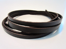 Dark Brown Leather Strapping, Blank Leather Strip Straps 8/9oz in Various Widths