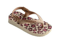 Havaianas Baby Chic Flip Flops - Shocking Beige Rose