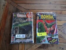 COMIC BOOK LOT -D C BOMBA JUNGLE BOY #1 1967-CONDORMAN IN FACTORY UNOPENED!