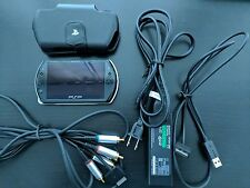 Sony PSP Go 16GB Piano Black + Component Video, Case & 2 Games!