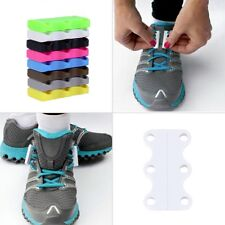 1 Pair Novelty Magnetic Casual Sneaker Shoe Buckles Closure No-Tie Shoelace New