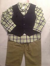 boys toddlers 3piece suit set size 18m new w/tags