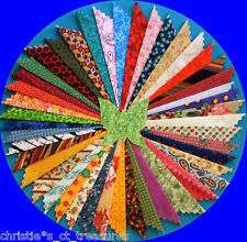 "You Choose 100 2"" 2.5"" 3"" 4"" 5"" Fabric Quilting Charm Squares No Duplicates"