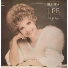 BRENDA LEE Feels So Right LP VINYL US Mca 1985 10 Track With Deletion Cut