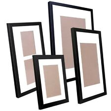 20 pcs Photo Frames Set Wall Black