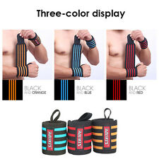 Wrist Wraps Lifting Weight Support Gym Straps Bandage Training Fitness Crossfit