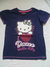 Girls ' HELLO KITTY' LOVE TO DANCE T SHIRT LAST ONE Age 6