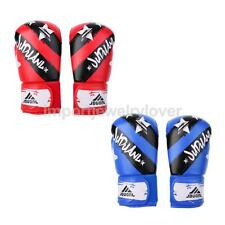Kids Adult Boxing Training Gloves Punch Muay Thai Fitness Kickboxing Mitts