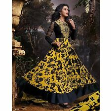 DESIGNER ANARKALI SALWAR KAMEEZ INDIAN ETHNIC PAKISTANI SALWAR BOLLYWOOD SUIT