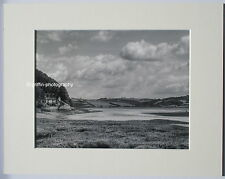 "Dylan Thomas ""The Boathouse"" Signed Limited Edition Mounted Print 14""x11"" B+W"