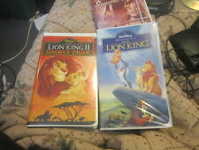 disneys the lion king and lion king2 set vhs