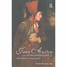Jane Austen Representations Regency England Sales Routledge Hardb. 9781138151536