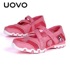 UOVO Breathable Pincess Girls Shoes Spring Shoes for Little Girls Cartoon Shoes