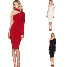 Sexy Womens Summer Bandage Halter Slim Bodycon Evening Party Cocktail Club Dress