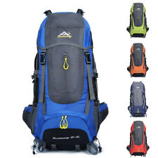 70L Outdoor Hiking Bag Camping Travel Sport Waterproof Mountain Backpack Daypack
