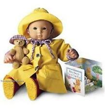 American Girl Bitty Baby - Twins APRIL SHOWERS RAINY DAY SET - Mint in the Box