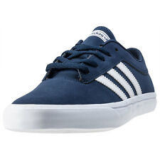 adidas Sellwood Mens Trainers Navy White New Shoes