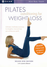 Pilates Conditioning for Weight Loss (DVD 2002) 220 Minutes!  Fitness 3 Workouts